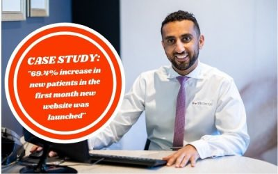 Sure Dental: 69.4% increase in new patients in the first month website was launched