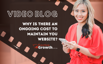 Why is There An Ongoing Cost To Maintain Your Website
